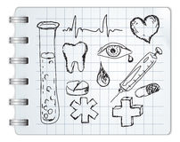 医疗符号 库存图片