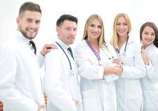 医疗纵向成功的小组 免版税图库摄影