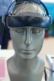 医疗设备,脑子试测器材 免版税库存图片