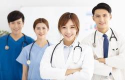 医疗队、医生和护士画象  库存图片