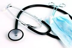 医疗7台的仪器 免版税库存照片