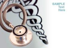 医疗stethescope 免版税图库摄影