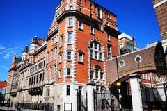 医院伦敦玛丽s st 免版税库存照片