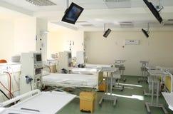 医院内部空间 免版税库存照片