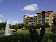 医院大厦在佛罗里达 免版税库存图片