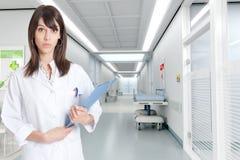医院护士 图库摄影