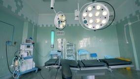 医院辛苦病区用作用的设备 股票录像
