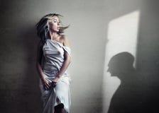 匿名对话 免版税图库摄影