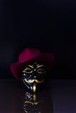 匿名的告密者 库存照片