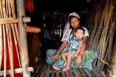 十东部落在印度 免版税库存照片