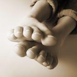 十个脚趾 免版税库存图片