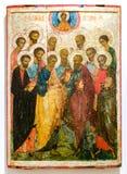 十二位传道者的委员会 免版税图库摄影