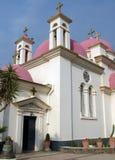十二使徒岩教会  库存照片
