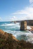 十二使徒岩,坎贝尔港国家公园,维多利亚,澳大利亚 免版税库存图片