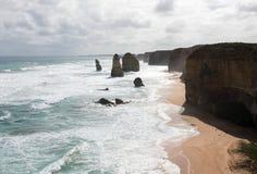 十二使徒岩,坎贝尔港国家公园,维多利亚,澳大利亚 图库摄影