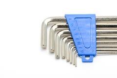 十六进制键被隔绝的板钳集合 库存图片