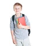 十几岁的男孩画象。 免版税图库摄影