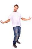 十几岁的男孩 免版税库存照片