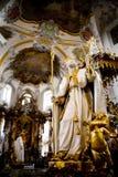 十四圣洁辅助工的大教堂 库存图片