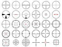 十字准线 图库摄影