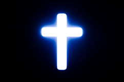 十字架光。 免版税图库摄影