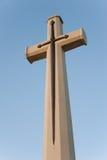 十字架和剑 免版税库存图片