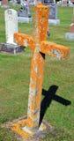 十字架和坟墓 免版税图库摄影
