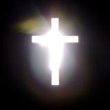 十字架的力量 免版税库存照片