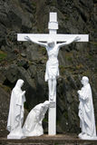 十字架的基督,爱尔兰 库存照片