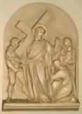 十字架的第八个驻地 免版税图库摄影