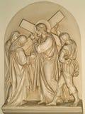 十字架的第四个驻地 库存图片