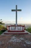 十字架的Loma de la Cruz或小山在奥尔金,古巴 免版税库存照片