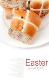 十字面包 免版税库存图片
