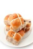 十字面包 免版税库存照片