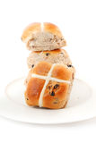 十字面包 免版税图库摄影