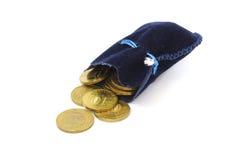 十枚硬币 免版税图库摄影