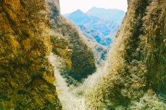 十渡自然公园 免版税图库摄影