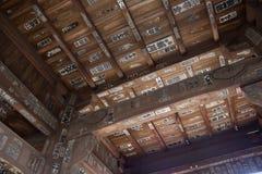 千叶寺庙 免版税图库摄影