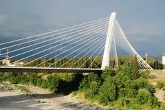 千年桥梁在波多里加,黑山 免版税库存照片