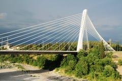 千年桥梁在波多里加,黑山 图库摄影
