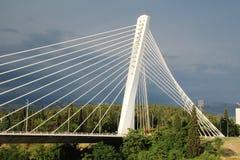 千年桥梁在波多里加,黑山 免版税库存图片
