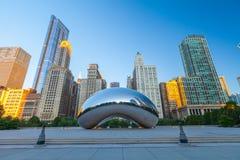 千禧公园,芝加哥 免版税库存图片