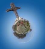 千年十字架 免版税图库摄影