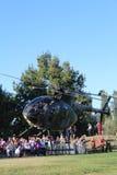 1直升机军事占领抢救 免版税库存照片