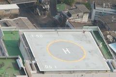 直升机场 免版税库存照片