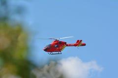 直升机救护车 库存图片
