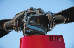 直升机旋翼毂 库存照片
