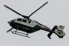 直升机民用的瓜迪亚 航空器:EC135 库存图片