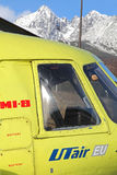 直升机米尔Mi8 库存照片