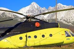 直升机米尔Mi8 免版税库存图片